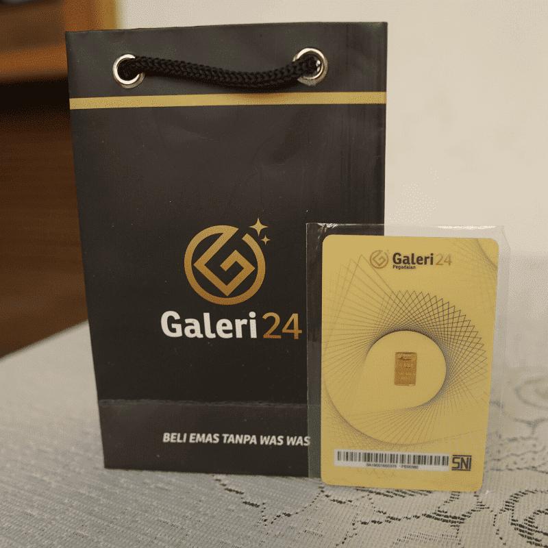 Paket Logam Mulia Galeri 24