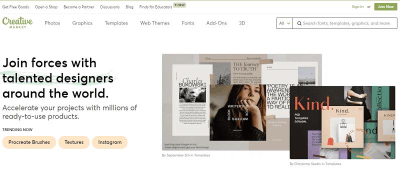 Creativemarket Jualan Template Design