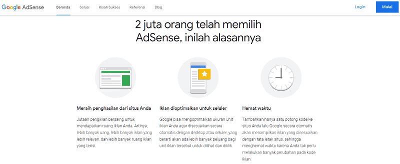 Bisnis Online Google Adsense