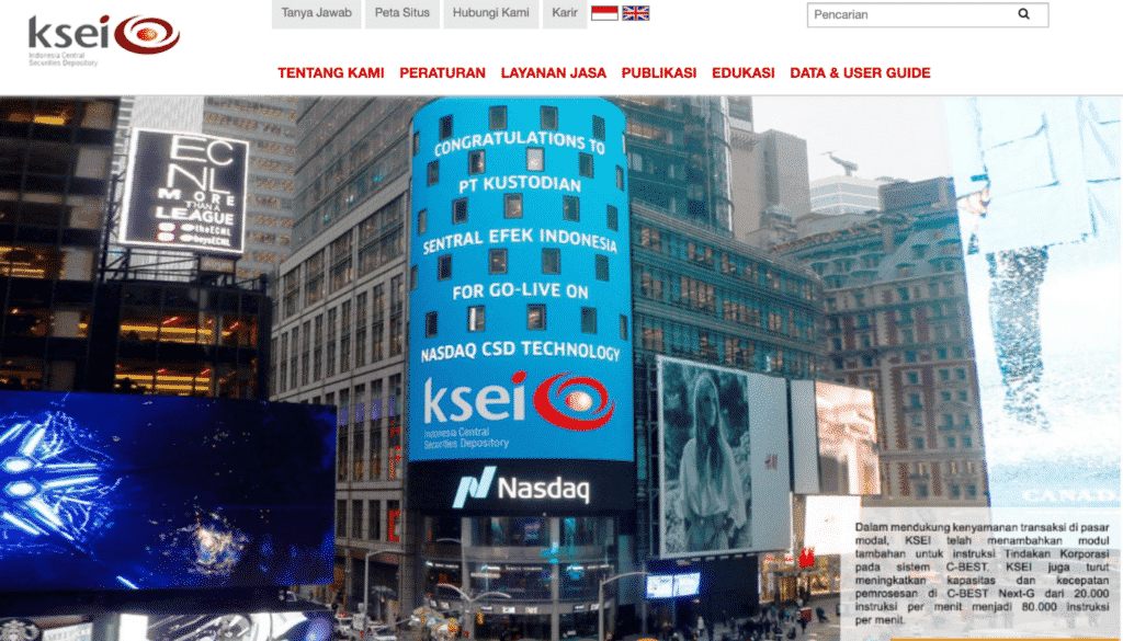KSEI - PT Kustodian Sentral Efek Indonesia