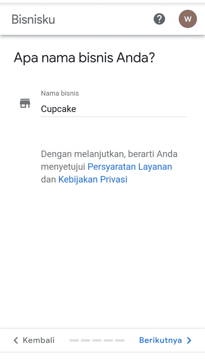 Google Bisnisku Daftar