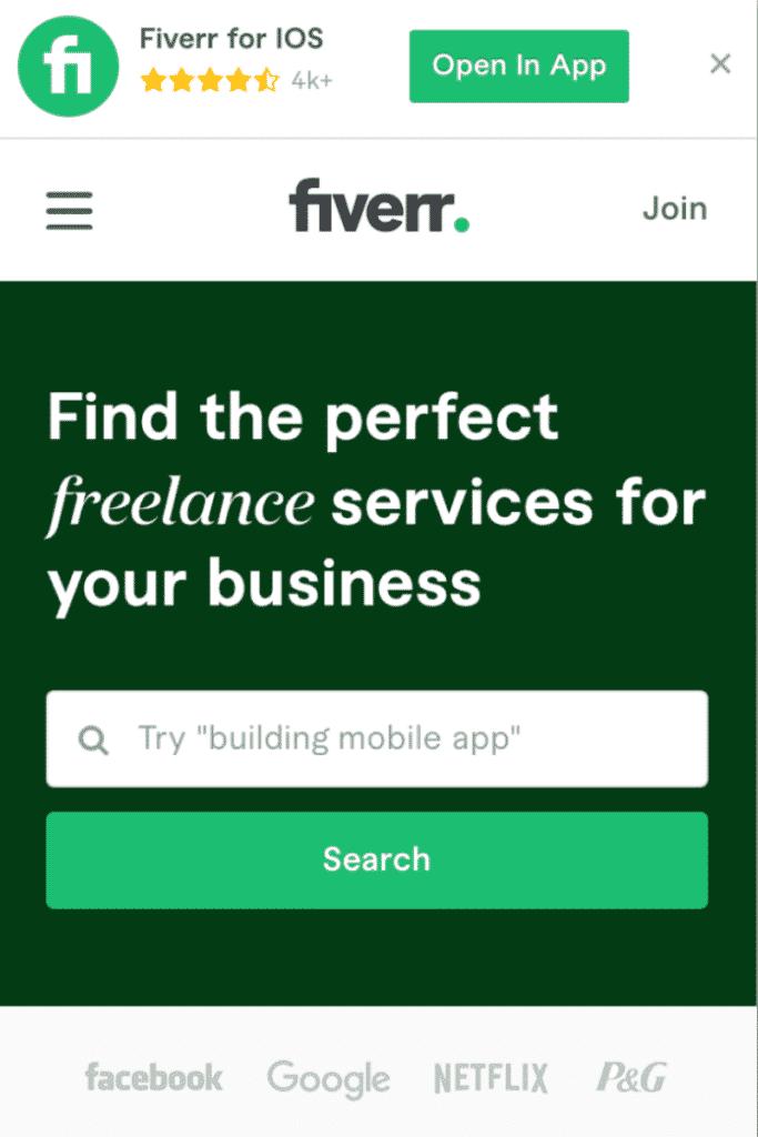 Fiverr - Cara Mendapatkan Uang dari Internet