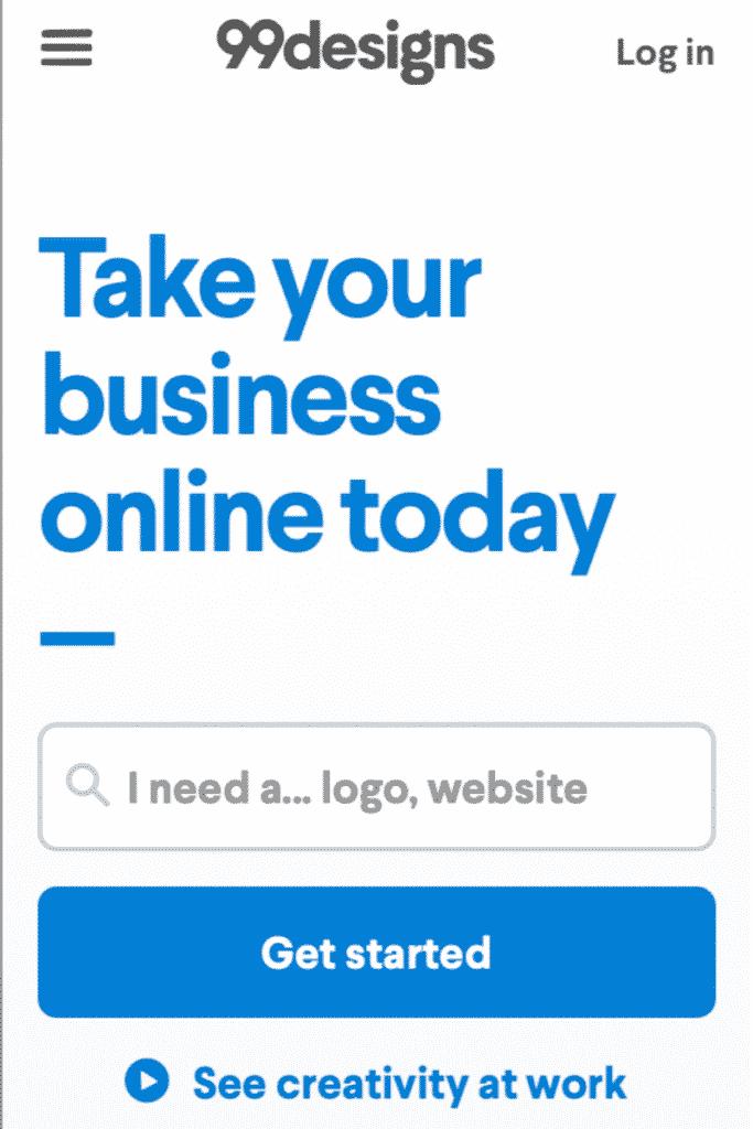 99Designs - Cara Mencari Uang dari Internet