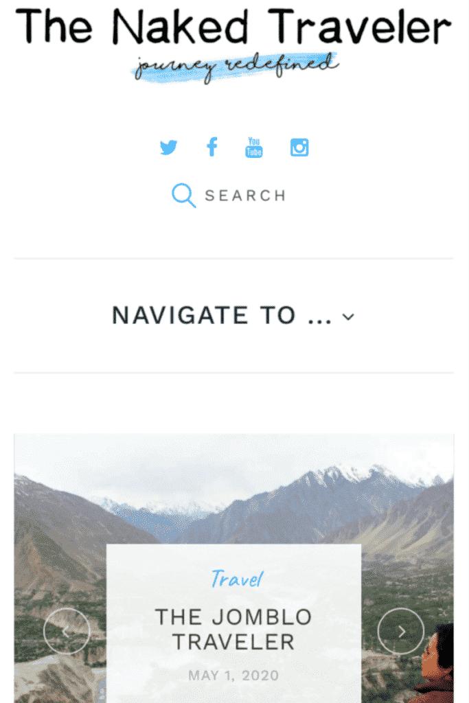 The Naked Traveller - Cara Mendapatkan Uang dari Internet