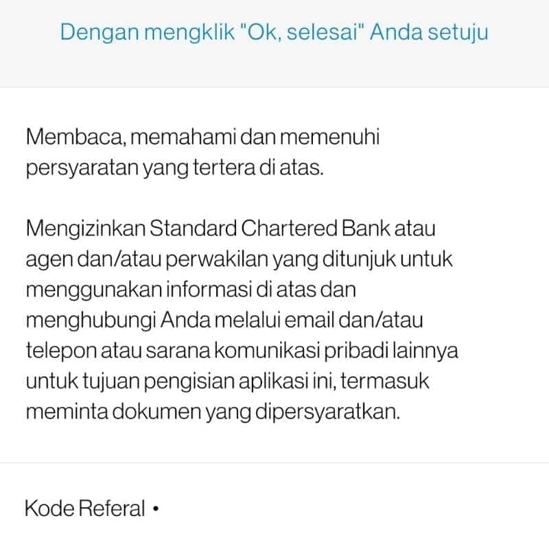 Review Pinjaman Kta Online Scb Standard Chartered Syarat Bunga Pinjaman Online Investasi Keuangan Asuransi Duwitmu