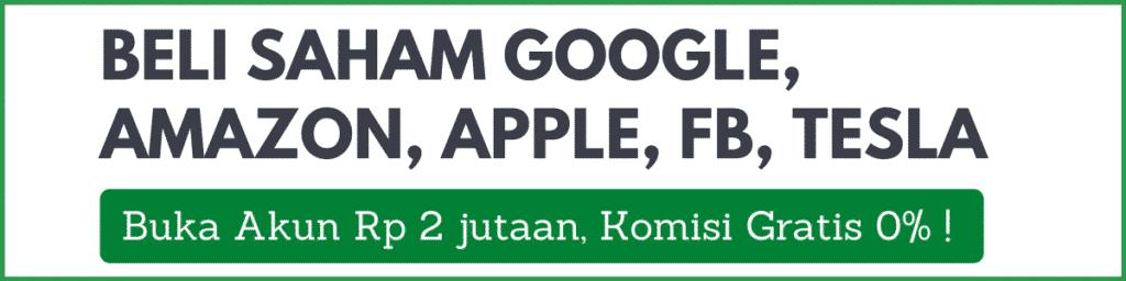 Beli Saham Google Amazon FB