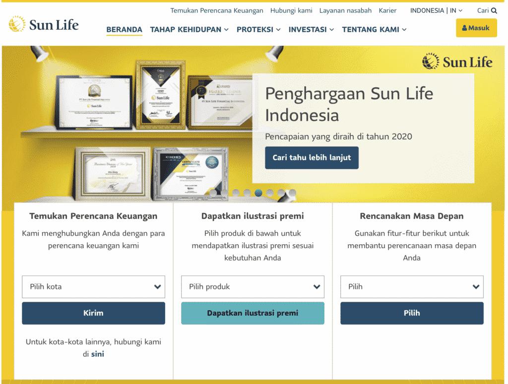 Asuransi SunLife Online