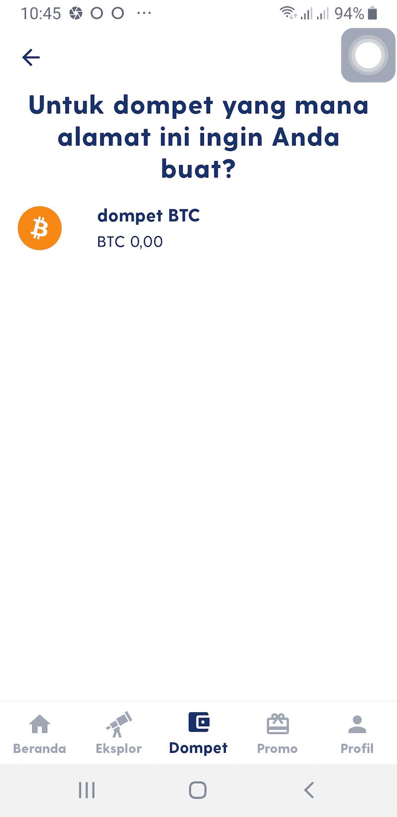 Wallet Aplikasi Luno Jual Beli Bitcoin Kripto