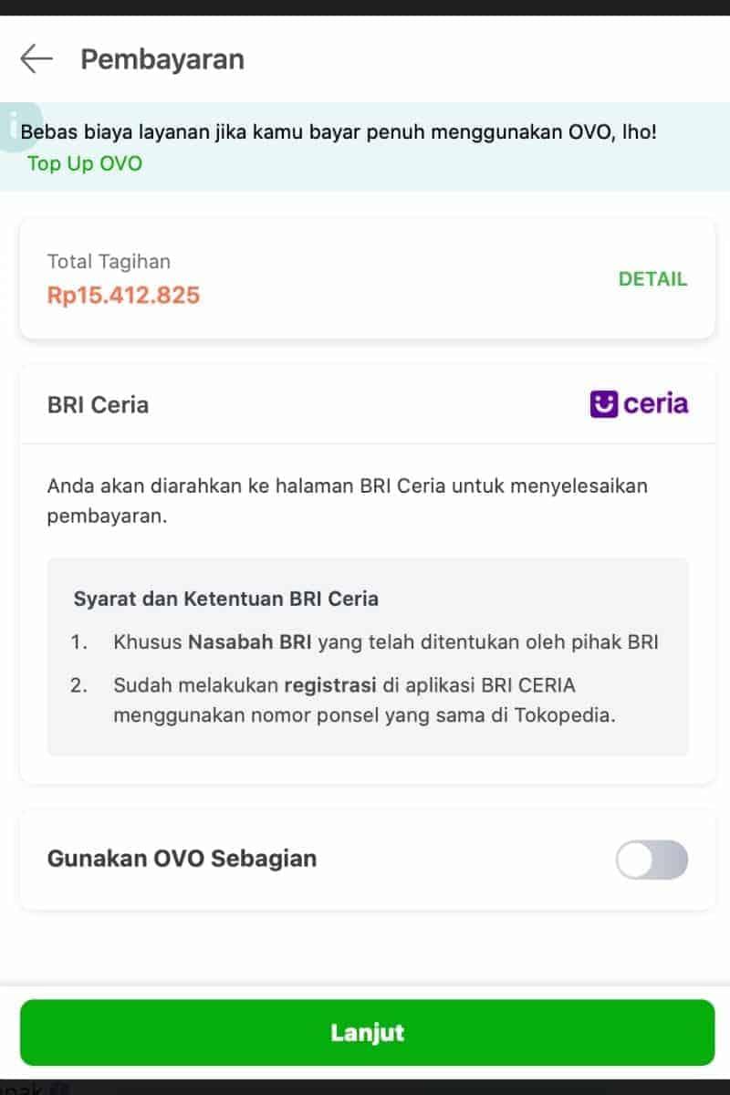 Limit Sudah Disetujui di Aplikasi BRI Ceria Online Pinjaman