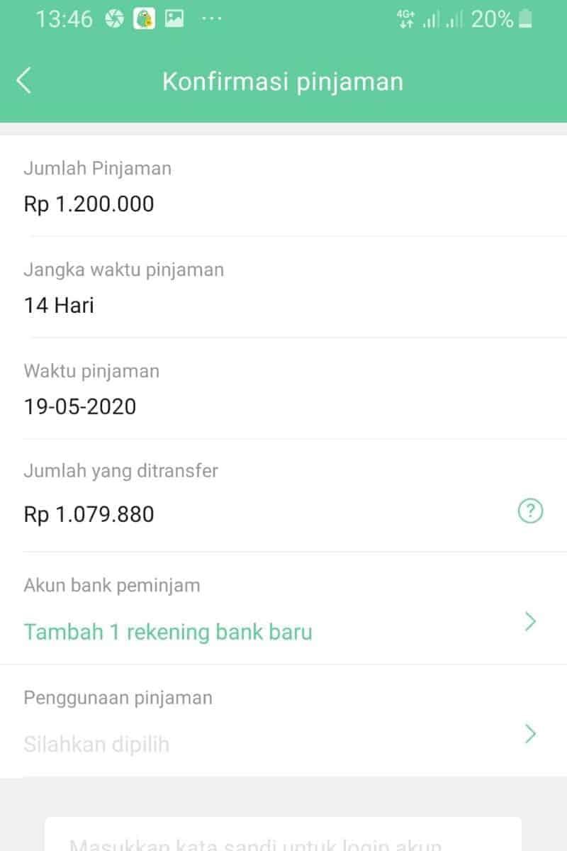 Ajukan Aplikasi Pinjaman Go