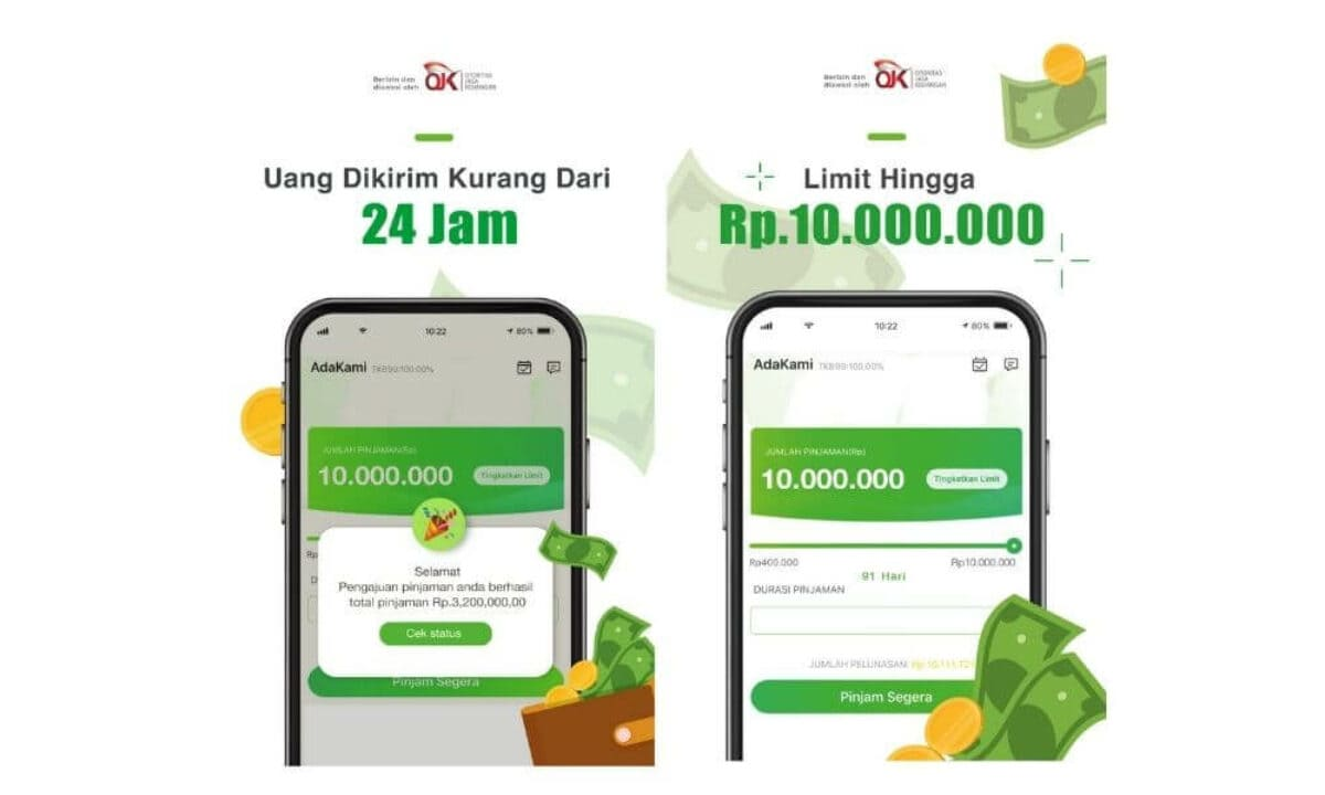 Review Adakami Aplikasi Pinjaman Online Izin Ojk Pinjaman Online Investasi Keuangan Asuransi Duwitmu