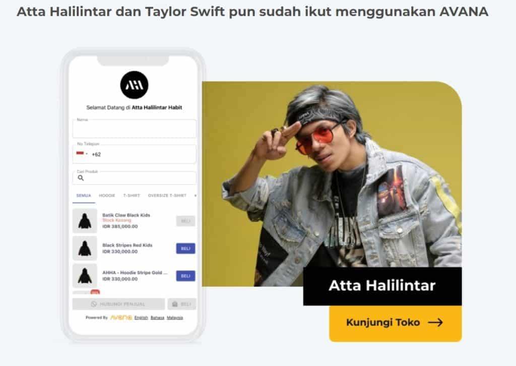 Avana Indonesia Social Commerce