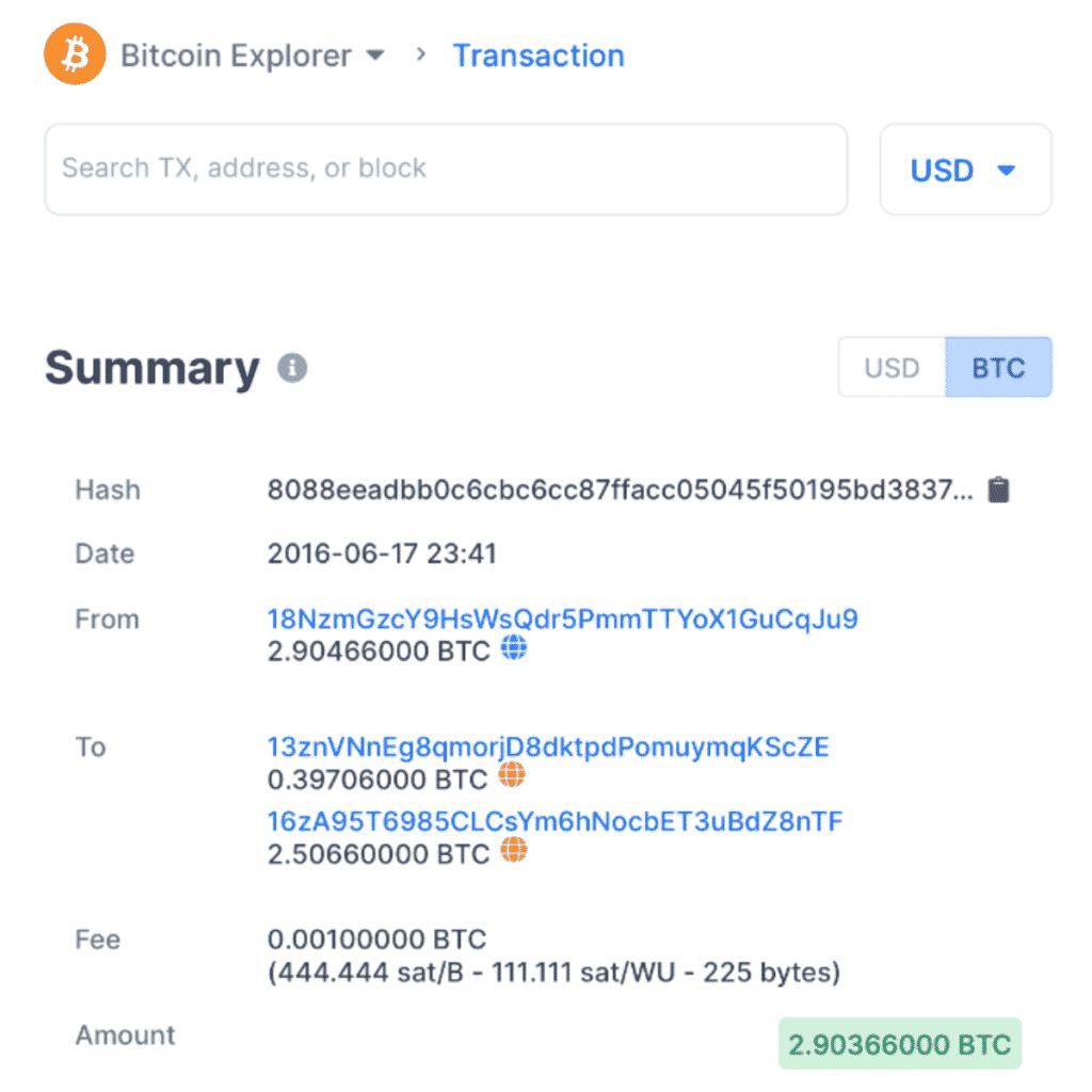 Transparansi Transaksi Bitcoin