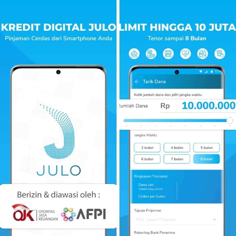 Pinjaman Online P2P Lending Julo