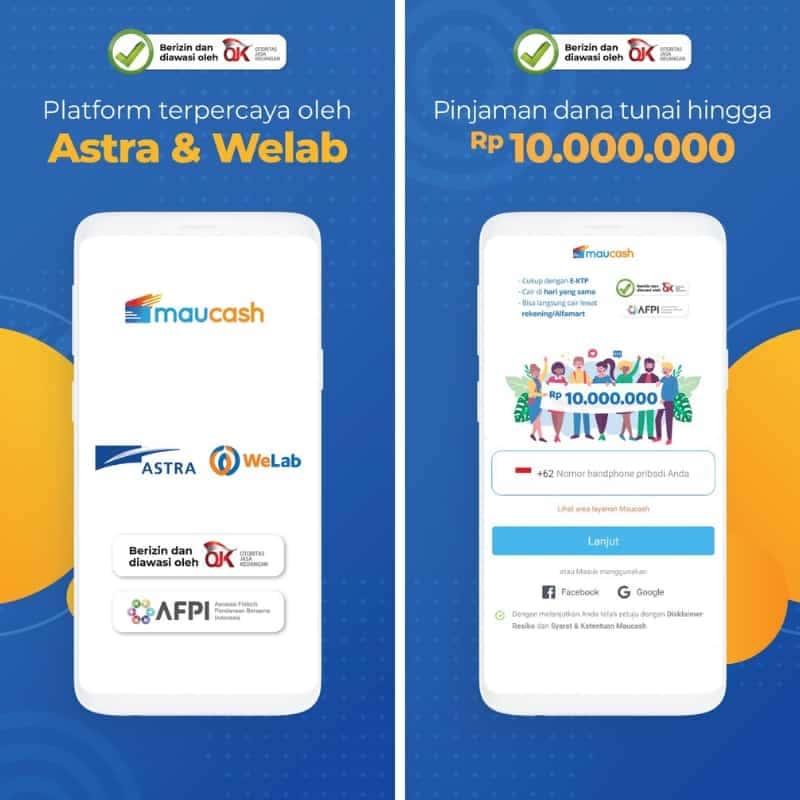 Pinjaman Online P2P Lending Maucash
