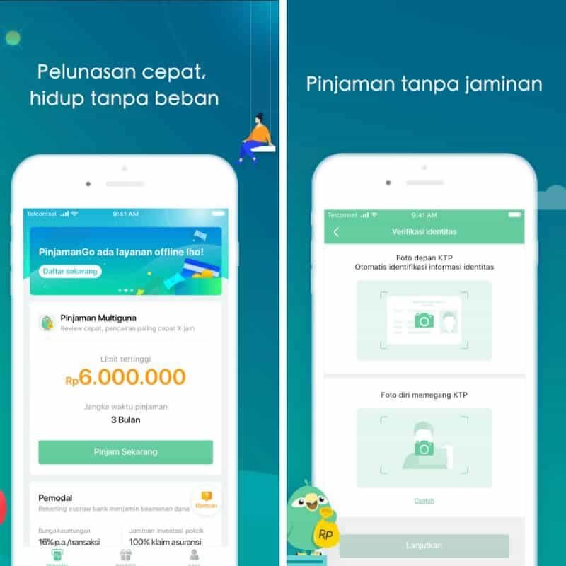 Pinjaman Online P2P Lending PinjamanGo