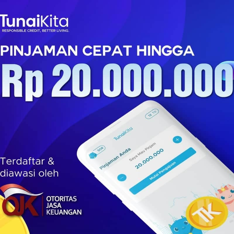 Pinjaman Online P2P Lending TunaiKita