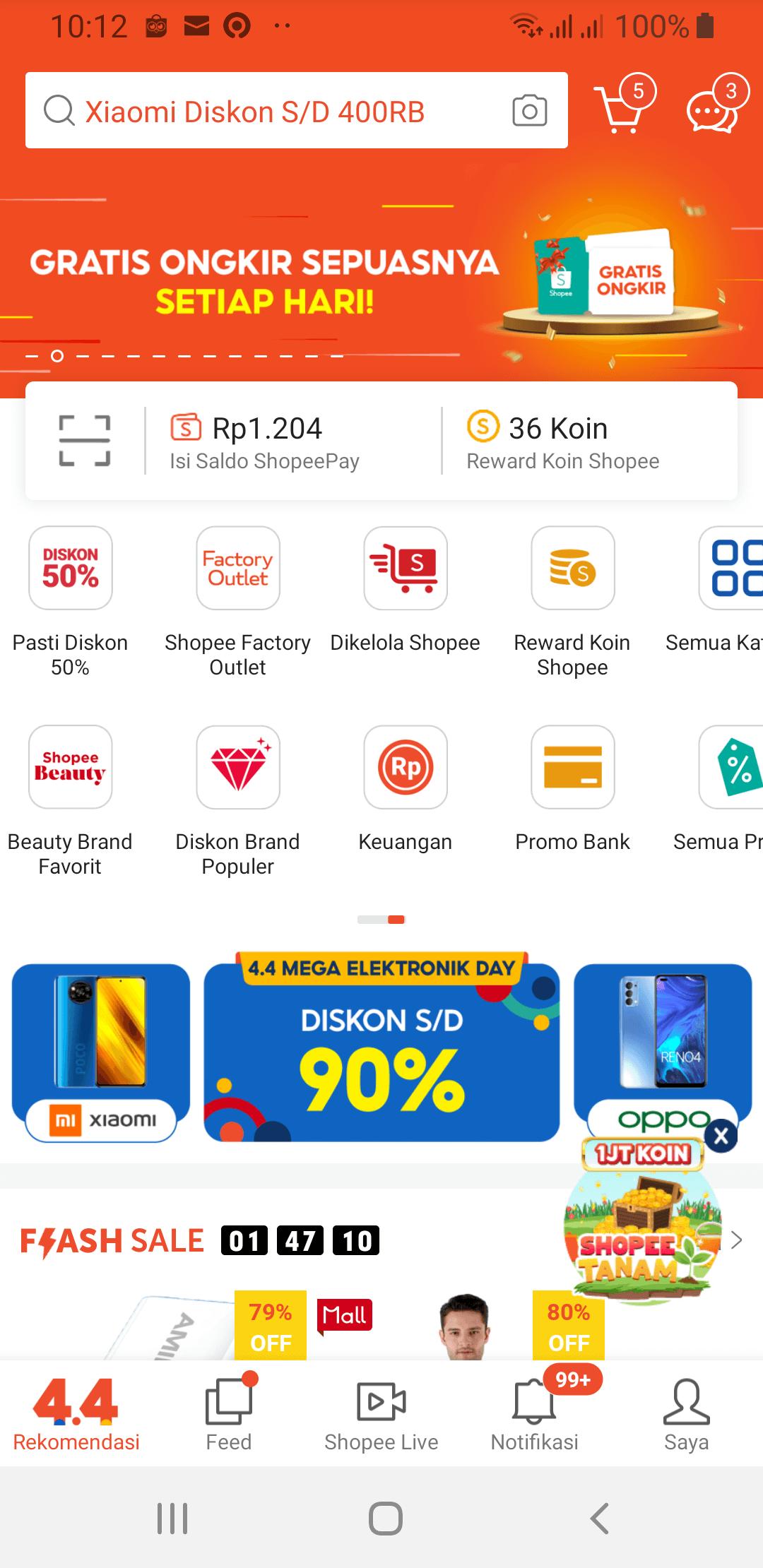 Aplikasi Cara Kredit Shopee