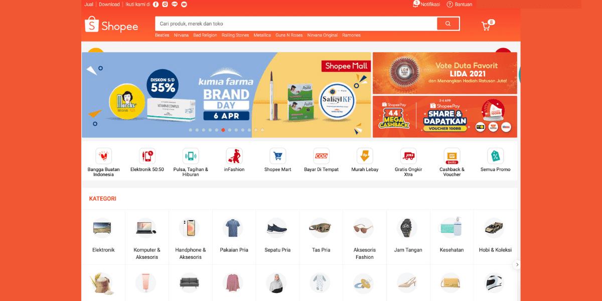 Cara Kredit di Shopee Belanja Online