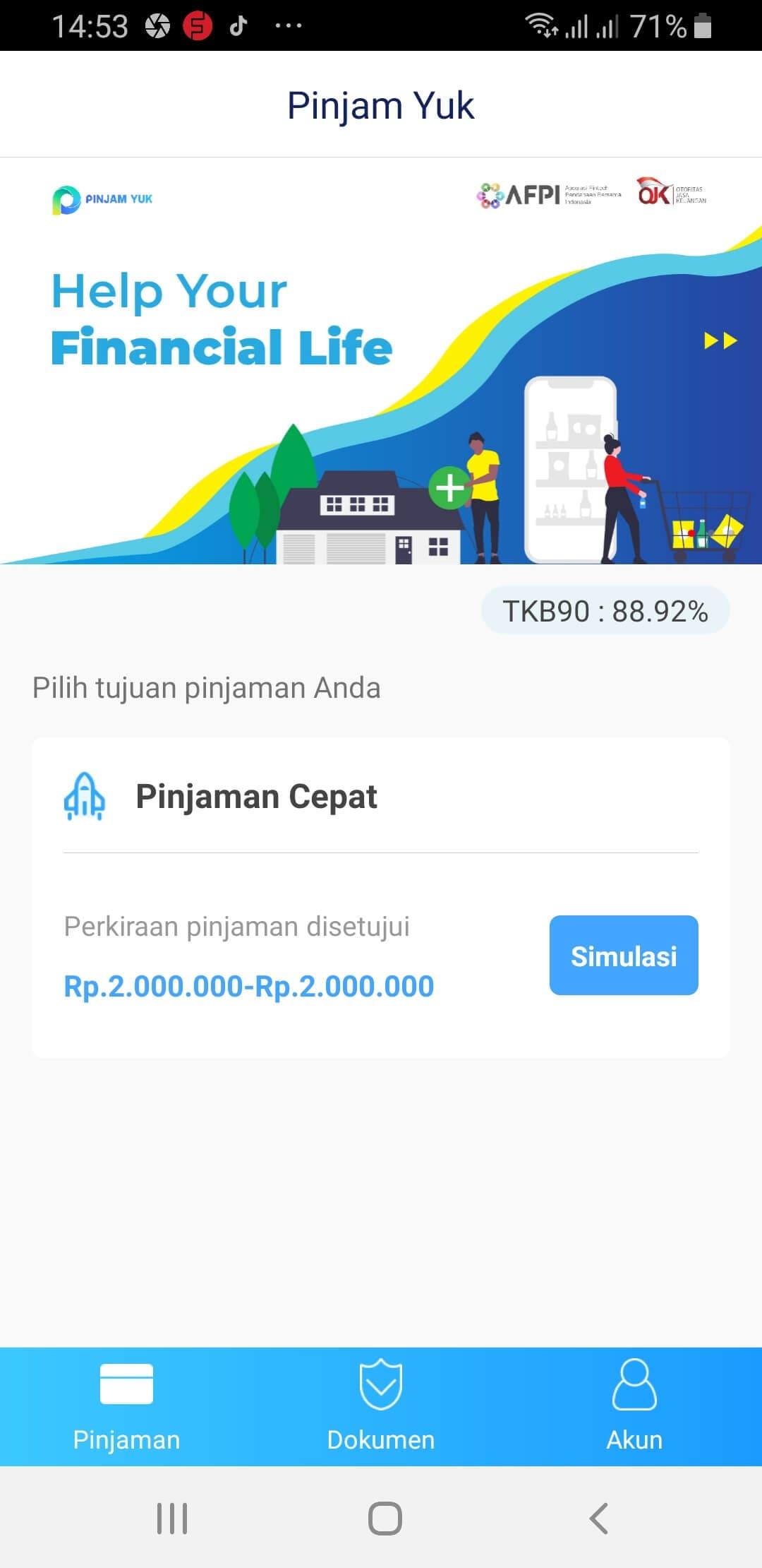 Aplikasi Pinjam Yuk Pinjaman Online