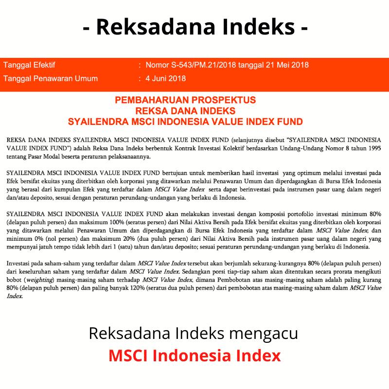 Reksadana Indeks