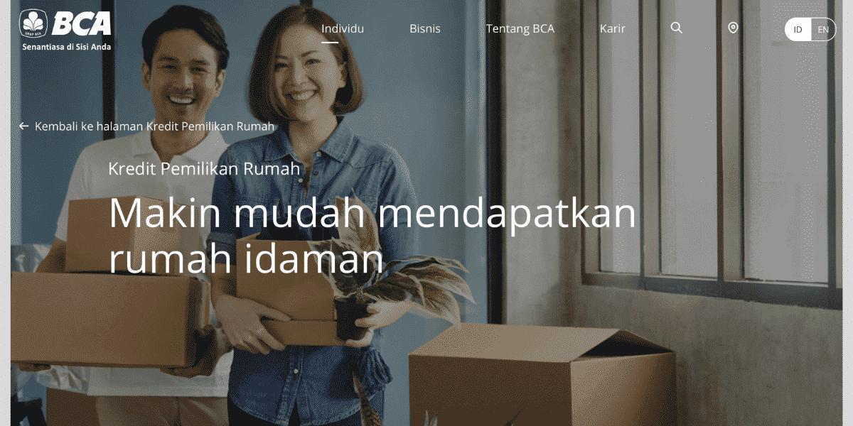 KPR BCA Pinjaman Rumah
