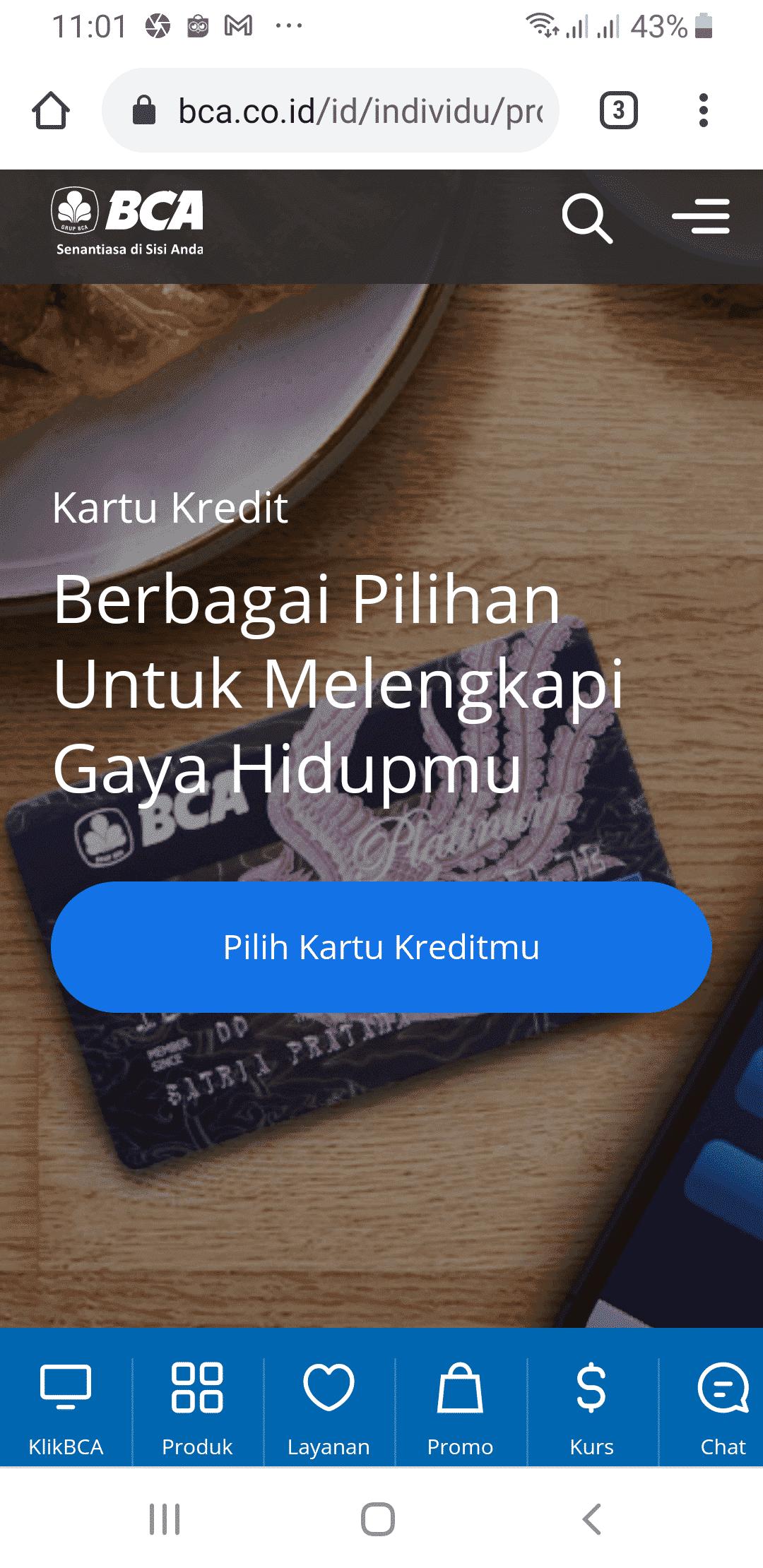Kartu Kredit BCA Apply Online 1