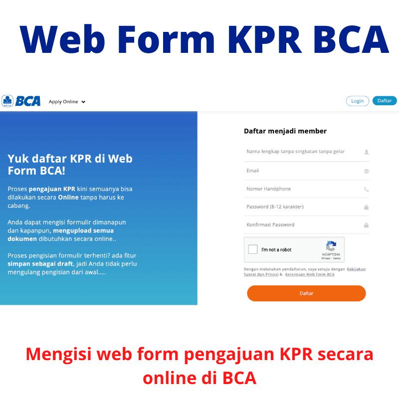 Pengajuan Online KPR BCA