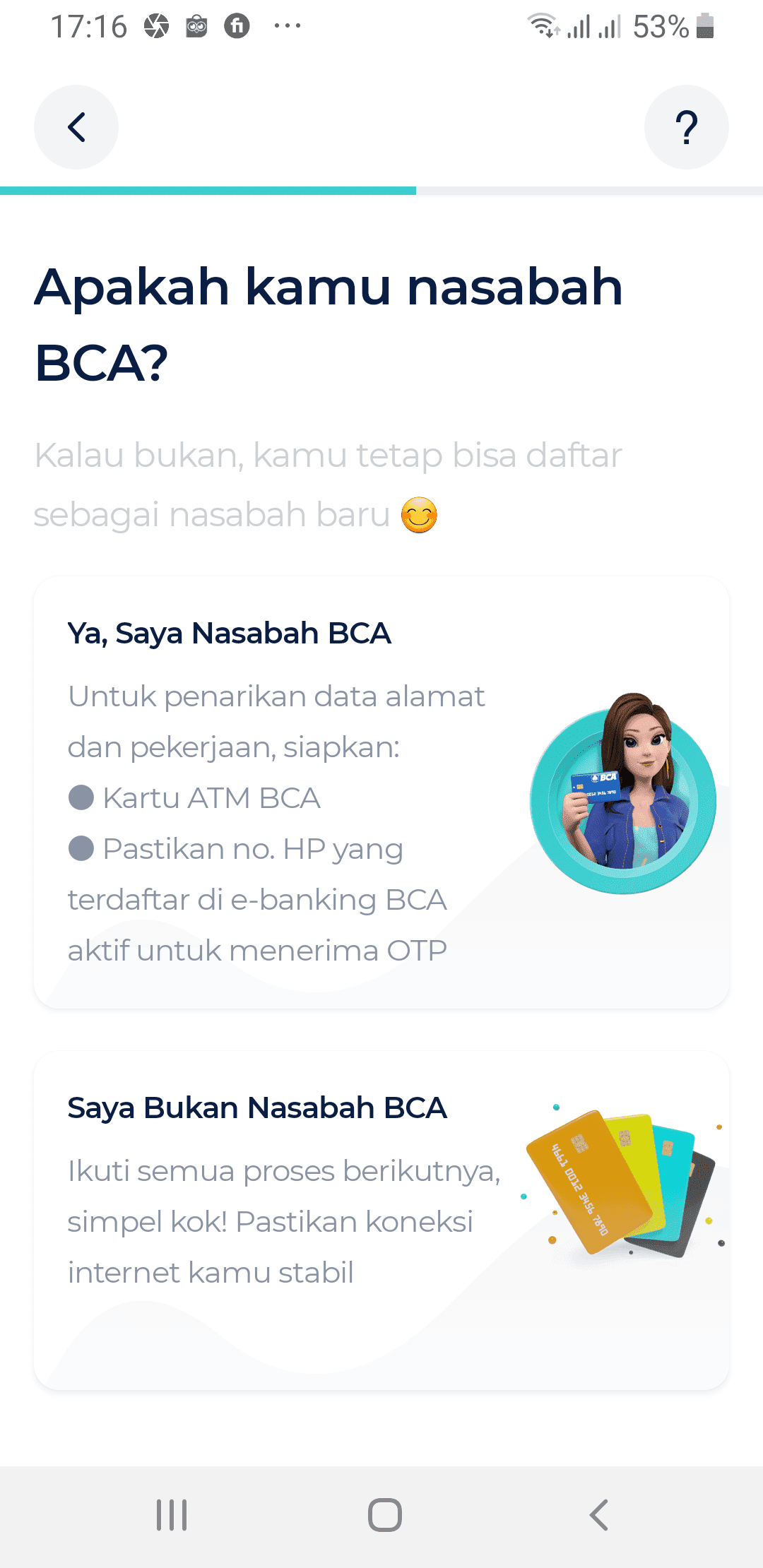 Hubungkan Rekening BCA dengan Aplikasi bLu
