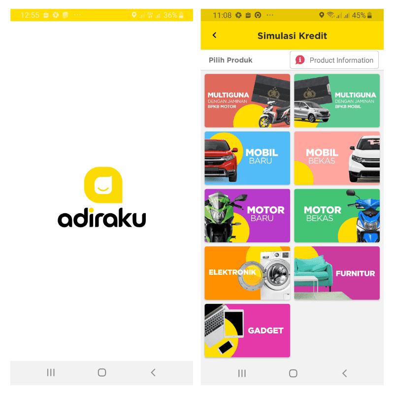 Aplikasi Adiraku Online